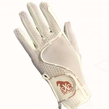 white superxcountry gloves