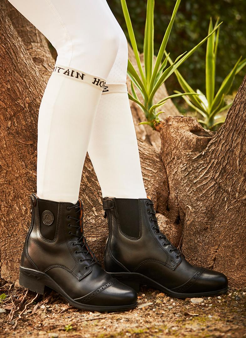 mountain horse aurora lace paddock short riding boot