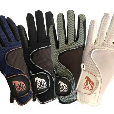 superxcountry riding gloves grey