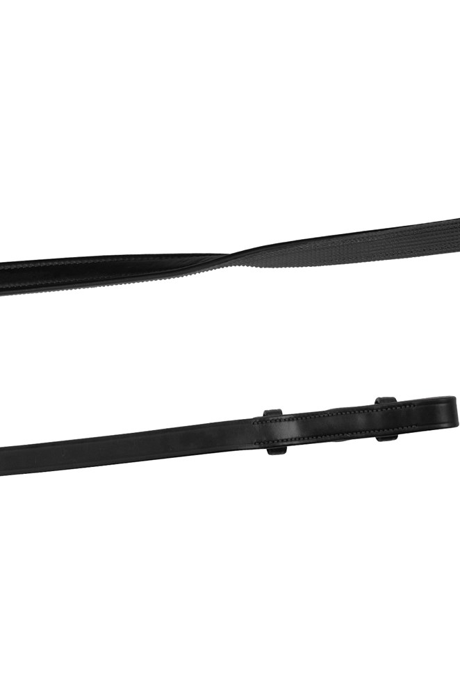 montar leather/rubber reins
