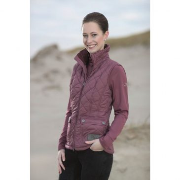HKM padded gilet riding