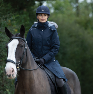 equetech venture waterproof riding coat