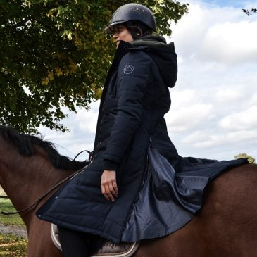 montar long horse riding coat