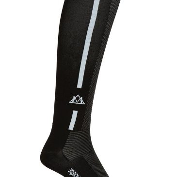 mountain horse riding long sock black