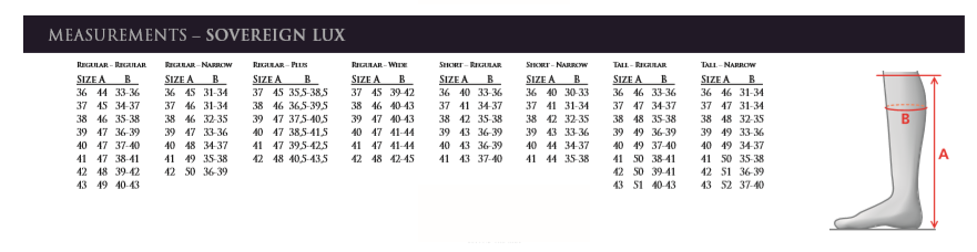 mountain horse tall boot size guide