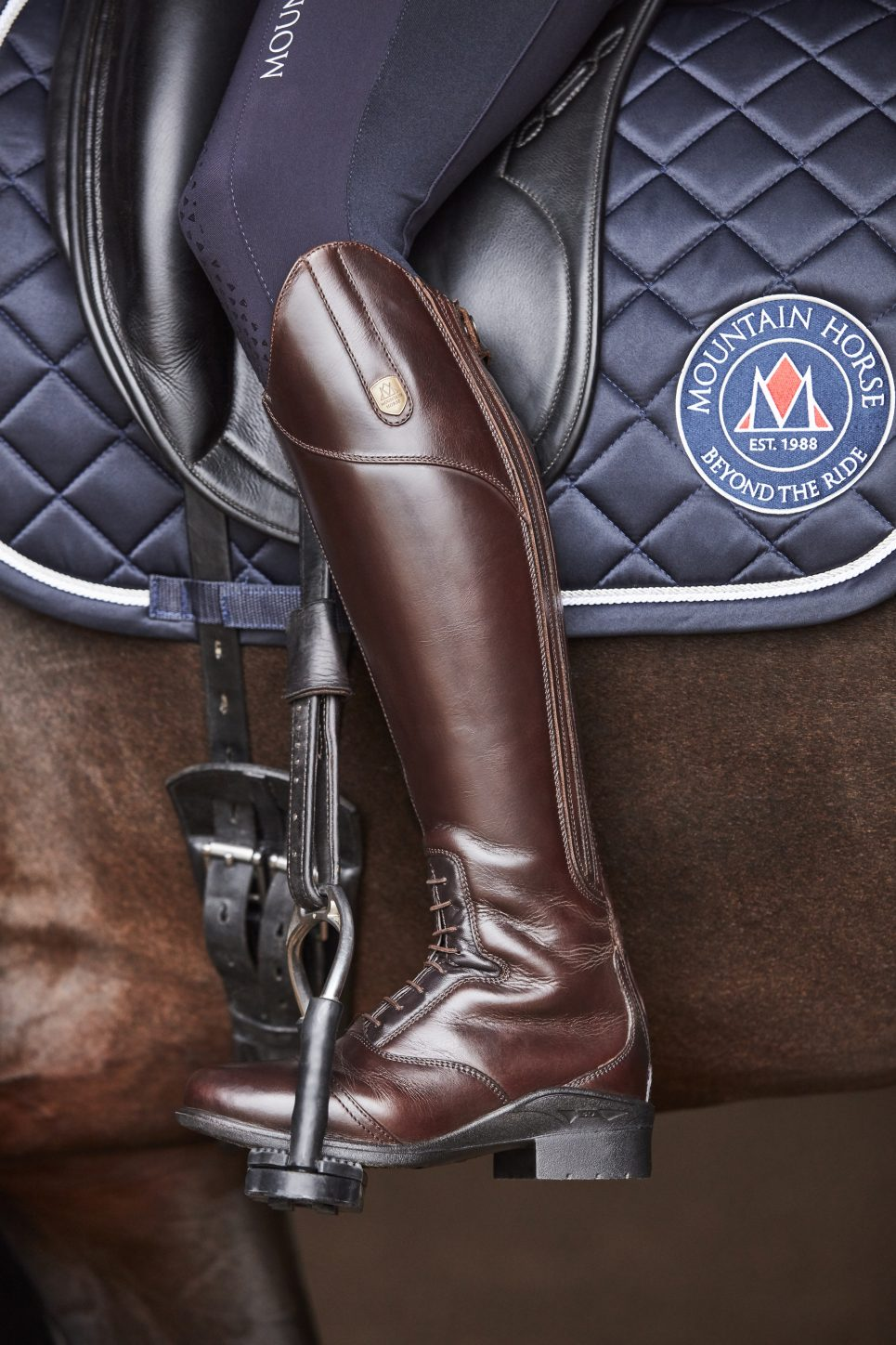 aurora tall riding boot mountain horse