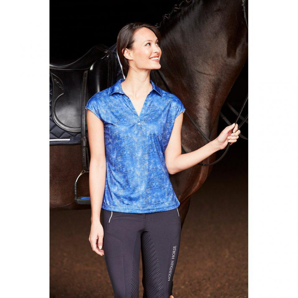 mountain horse sophie tech top blue