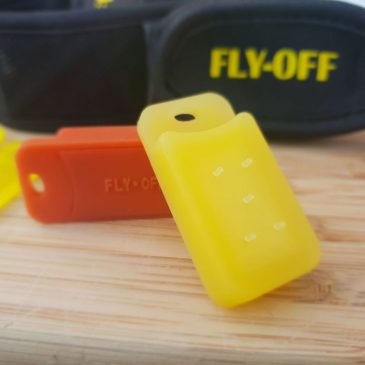 fly off fly repellant horse and rider
