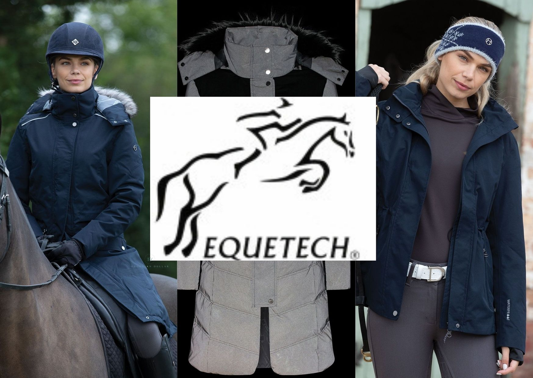 equetech long riding jackets waterproof