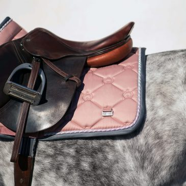 ps of sweden blush saddle pad