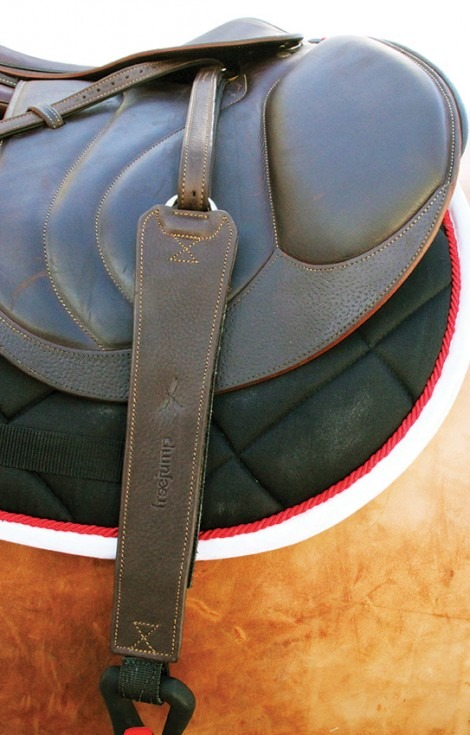 freejump progrip wide stirrup leather