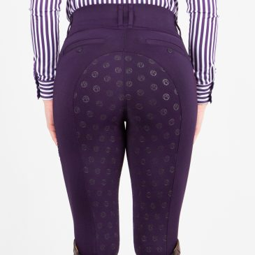 ps of sweden plum mathilde riding tights