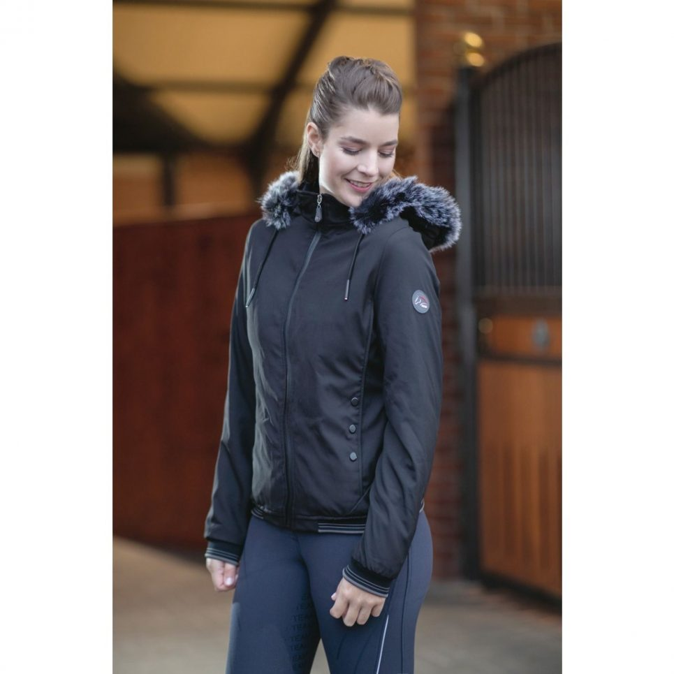 water resistant riding jacket