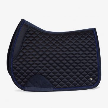 ps of sweden pole navy saddle pad